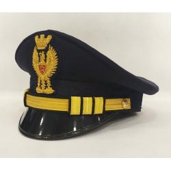 Berretto Commissario Polizia di Stato Diadema