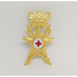 Fregio Ufficiale Medico Esercito Italiano metallo