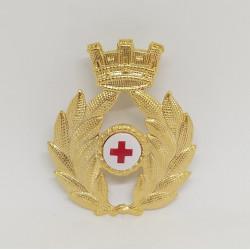 fregio commissariato per berretto esercito italiano