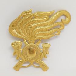 Fregio bersagliere metallo per berretto esercito italiano