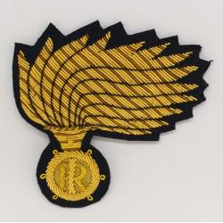 Fregio Fiamma Brigadiere Carabinieri opaca