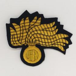 Fregio Fiamma Brigadiere Capo qualifica speciale Carabinieri