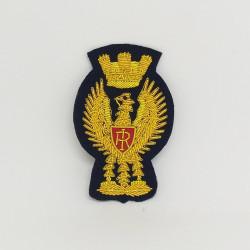 Fregio Aquila ricamato berretto Polizia di Stato