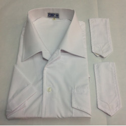 Camicia doppio uso bianca