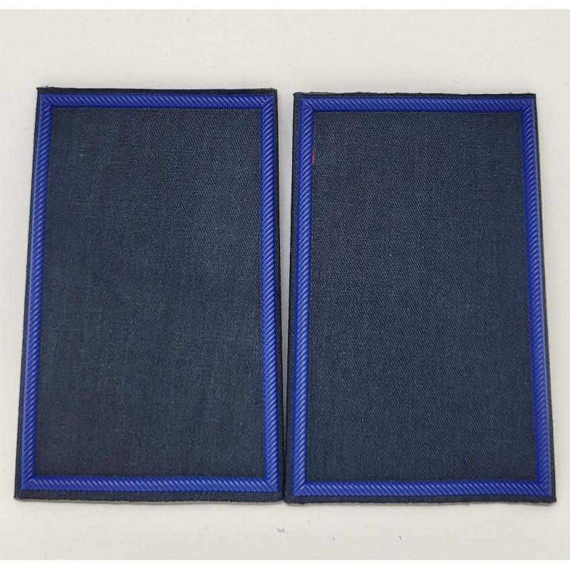 Tubolari plastica blu navy bordo blu GPG IPS neutri