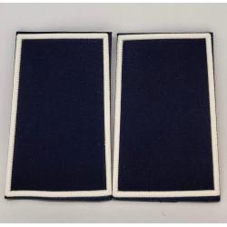 Tubolari plastica blu navy bordo bianco GPG IPS neutri