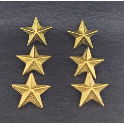 Stelle grado metallo Capitano Esercito