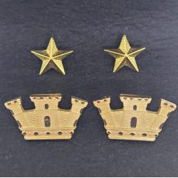 Gradi metallo Maggiore Esercito