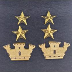 Gradi metallo Tenente Colonnello Esercito